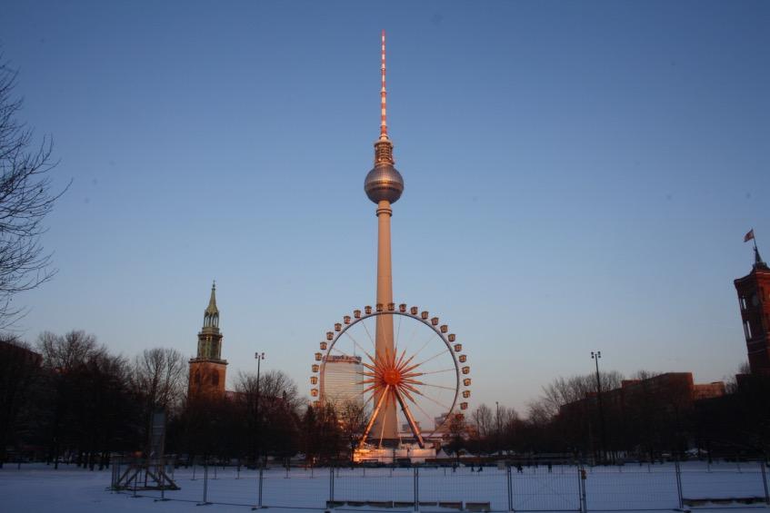 La Torre della Tv a Berlino