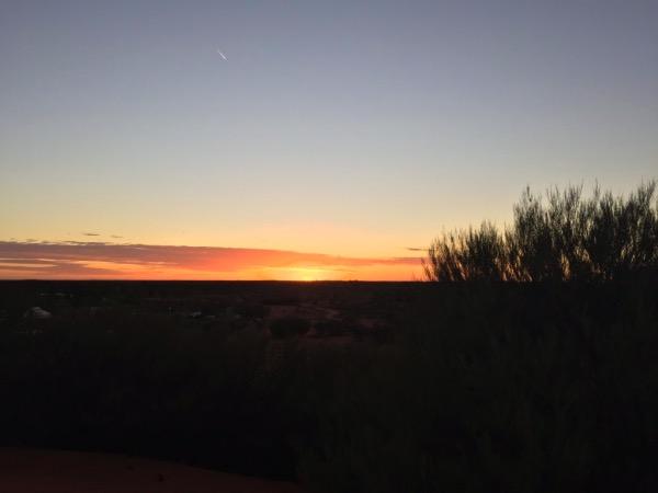tramonto australia