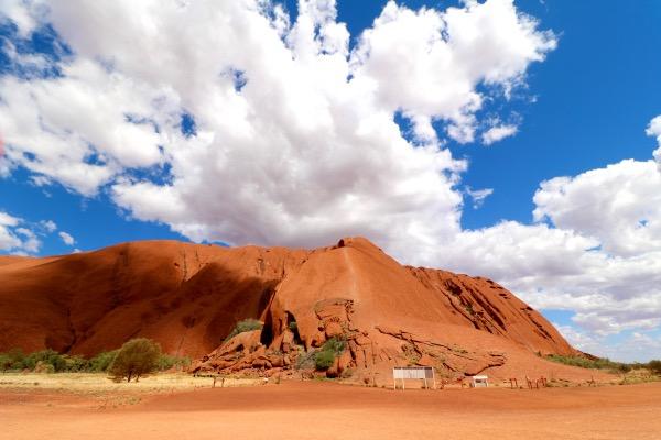 Uluru percorso a piedi