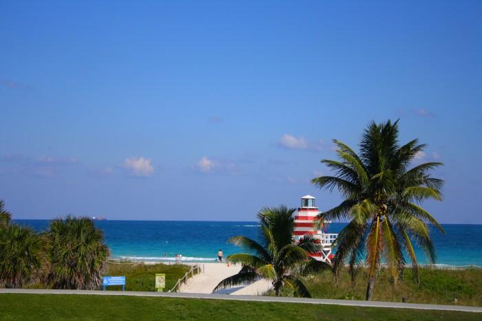 Spiaggia di Miami Beach