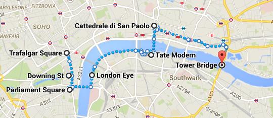 Itinerario Londra Secondo giorno