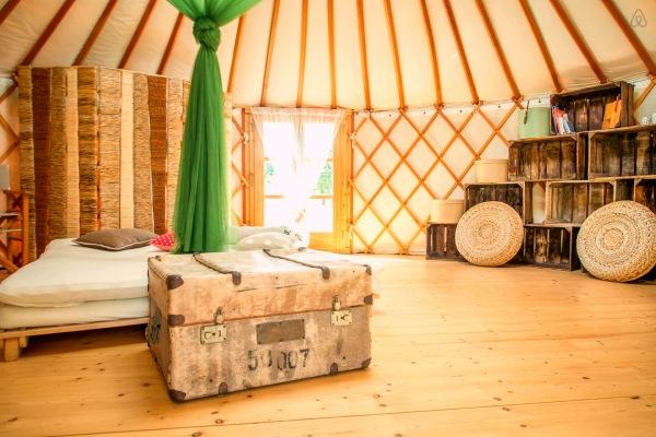 Insolito Yurta Airbnb