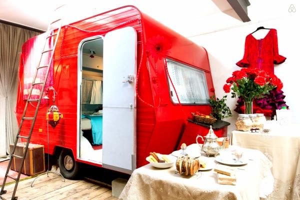 Insolito Roulotte Airbnb